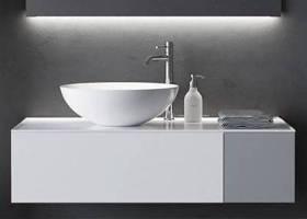 現代洗手盆擺件組合3d模型下載 現代洗手盆擺件組合3d模型下載