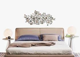 現代雙人床雙人床臺燈組合3D模型下載 現代雙人床雙人床臺燈組合3D模型下載