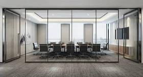 现代办公会议室3D模型下载 现代办公会议室3D模型下载