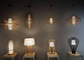 新中式禅意吊灯台灯集合3D模型下载 新中式禅意吊灯台灯集合3D模型下载