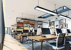 现代开放式办公室3D模型下载 现代开放式办公室3D模型下载