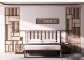 新中式禪意床具 新中式床具 雙人實木床 床頭柜 掛畫 屏風隔斷 臺燈3D模型下載 新中式禪意床具 新中式床具 雙人實木床 床頭柜 掛畫 屏風隔斷 臺燈3D模型下載