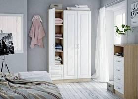北欧实木衣柜3D模型下载 北欧实木衣柜3D模型下载