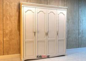 欧式简约白色木艺衣柜3D模型下载 欧式简约白色木艺衣柜3D模型下载