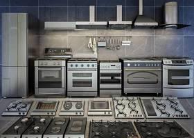 現代廚房電器燃氣灶油煙機組合3D模型下載 現代廚房電器燃氣灶油煙機組合3D模型下載