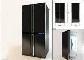 冰箱 3D模型 下载 冰箱 3D模型 下载