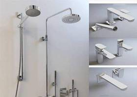 現代花灑水龍頭3D模型下載 現代花灑水龍頭3D模型下載