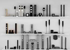 现代音响组合3d模型下载 现代音响组合3d模型下载