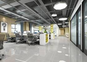 现代敞开式办公室前台休闲区3D模型下载 现代敞开式办公室前台休闲区3D模型下载