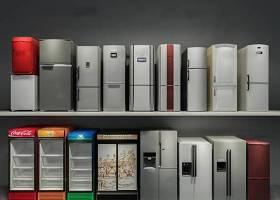 现代双开门单开门冰箱商店冰柜组合3D模型下载 现代双开门单开门冰箱商店冰柜组合3D模型下载
