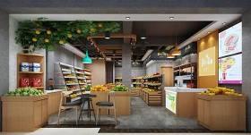 现代超市水果店3D模型下载 现代超市水果店3D模型下载
