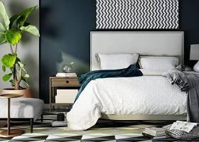 現代雙人床床頭柜組合3D模型下載 現代雙人床床頭柜組合3D模型下載