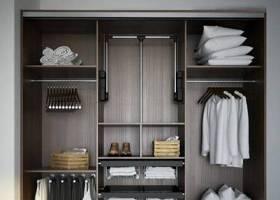现代实木衣柜服饰组合3D模型下载 现代实木衣柜服饰组合3D模型下载