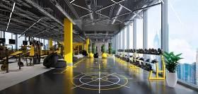 现代健身房3D模型下载 现代健身房3D模型下载