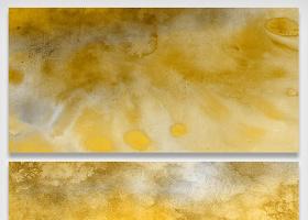 金色流质水彩大理石花纹图片效质感叠...
