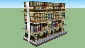 货架 草图大师模型SU模型下载 货架 草图大师模型SU模型下载