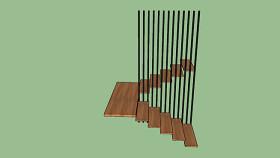 樓梯在現代掉頭 編鐘 排簫 筷子 SU模型下載 樓梯在現代掉頭 編鐘 排簫 筷子 SU模型下載