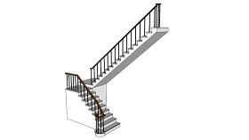樓梯 起重機 樓梯 機械 樓梯扶手 指示牌 SU模型下載 樓梯 起重機 樓梯 機械 樓梯扶手 指示牌 SU模型下載