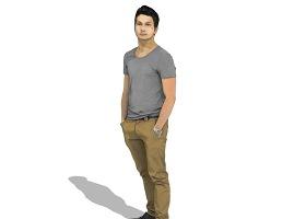 3D人物SU模型下载 3D人物SU模型下载