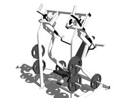 室內健身器材SU模型下載 室內健身器材SU模型下載
