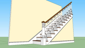 樓梯詳圖 樓梯 樓梯扶手 書 室外 其他 SU模型下載 樓梯詳圖 樓梯 樓梯扶手 書 室外 其他 SU模型下載