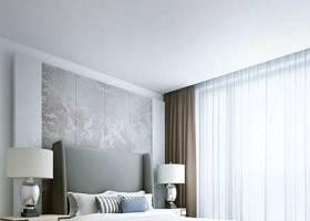 現代家居臥室 現代棕色長方形皮質床尾凳 現代金屬床頭臺燈3D模型下載 現代家居臥室 現代棕色長方形皮質床尾凳 現代金屬床頭臺燈3D模型下載
