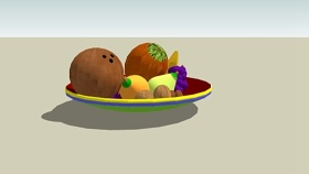 水果 草图大师模型SU模型下载 水果 草图大师模型SU模型下载
