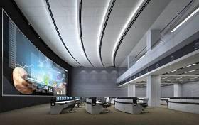 現代監控中心指揮中心3D模型下載 現代監控中心指揮中心3D模型下載