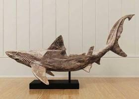 鲨鱼雕刻装饰品摆件 陈列品 工艺品 艺术品 雕塑饰品3D模型下载 鲨鱼雕刻装饰品摆件 陈列品 工艺品 艺术品 雕塑饰品3D模型下载