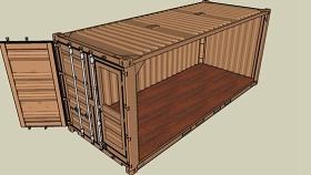 集裝箱 草圖大師模型SU模型下載 集裝箱 草圖大師模型SU模型下載