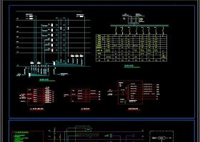 原創門診樓電氣CAD圖紙