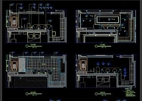 原创展厅平立面CAD施工图