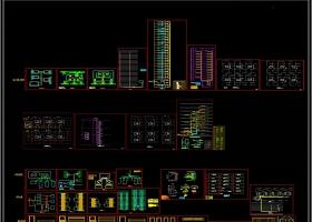 弱电智能化图库系统图块CAD