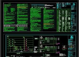 原创办公楼电气CAD全套平面施工图