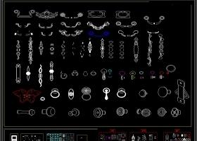 五金配件CAD图集