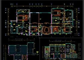 欧式水刀拼花CAD设计图集