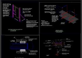 全套建筑电气施工常用节点图库