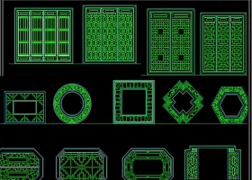 千種門窗CAD圖庫