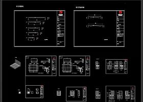 欧式全屋柜子CAD施工图效果图
