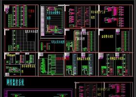 原创弱电系统CAD图纸