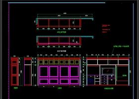 原创全套家装施工图纸平面图室内装修家装CAD