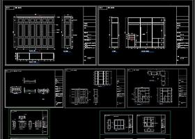 柜子CAD床头柜CAD
