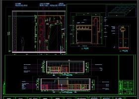 现代风格健身俱乐部全套CAD施工图