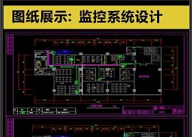 原創2019全套安防監控設備CAD圖庫