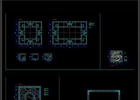 室内设计地面拼花CAD素材总汇