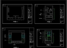 日式和室榻榻米设计CAD图集