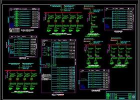 公寓电气全套CAD图库