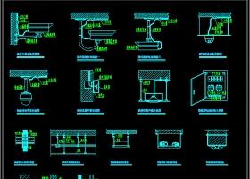 原创2019常用监控大样图CAD图库