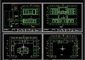 原创2019橱柜CAD图库