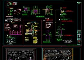 原创小区弱电智能化项目全套CAD图纸
